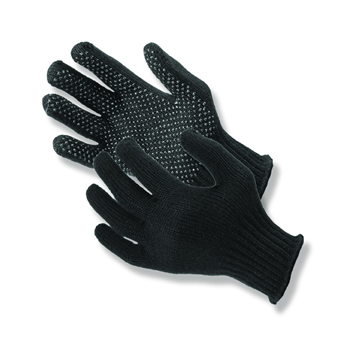 DOT GLOVES BLACK
