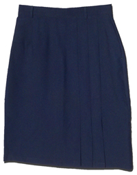 Ladies' USPS Retail Clerk Postal Uniform Navy Skirt