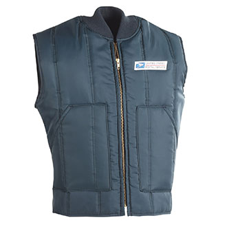 Insulated Postal Vest for Mail Handlers and Maintenance Pers